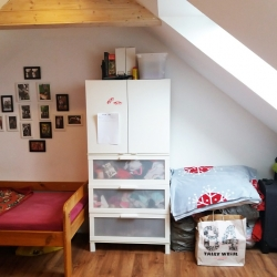 Dívčí pokoj v podkroví Frýdek-Místek | PŘED