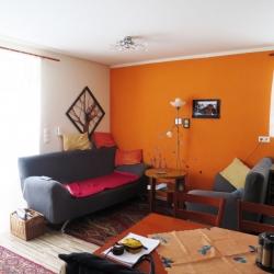 Nová kuchyně a obývací pokoj do RD v Bašce | Před