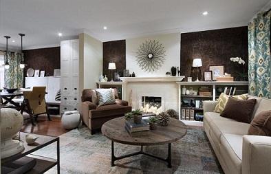 Obývací pokoj interiérový designér