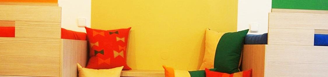 barvy detsky pokojik doplnky