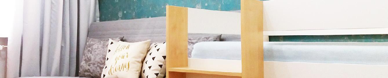 chlapecký pokoj postel