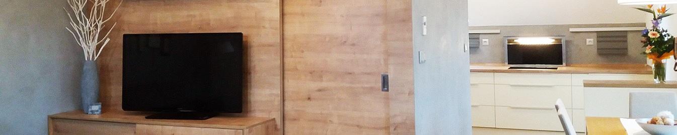 multifunkční prostor v podkroví rodinného domu